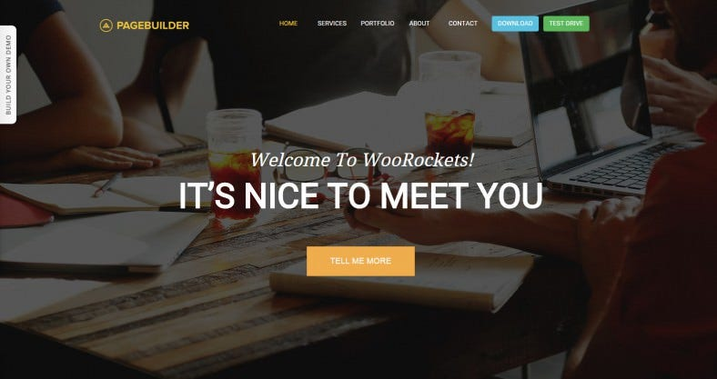 Free Wordpress Drag & Drop Page Builder