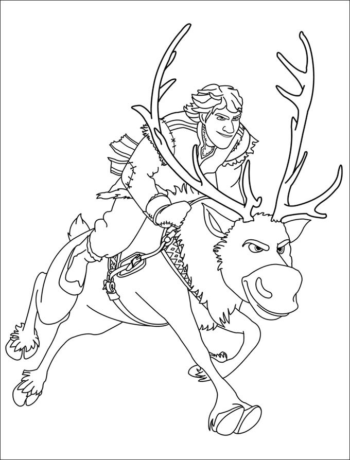 28+ Frozen Coloring Page Templates - Free PNG Format ...
