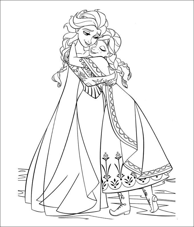 28 Frozen Coloring Page Templates Free Png Format Download