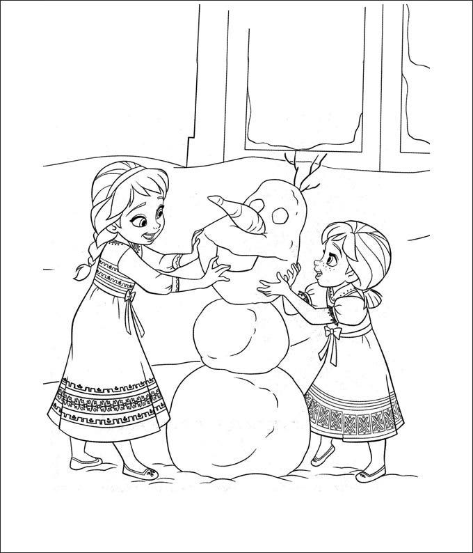28 Frozen Coloring Page Templates Free Png Format Download Free - Frozen-movie-coloring-pages