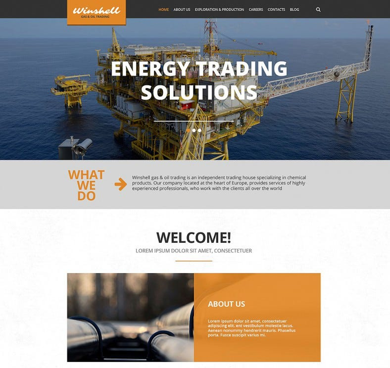 15 Best Industrial WordPress Website Templates & Themes | Free ...