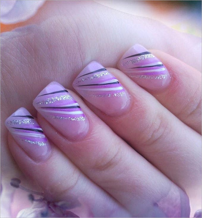gel nail design gallery