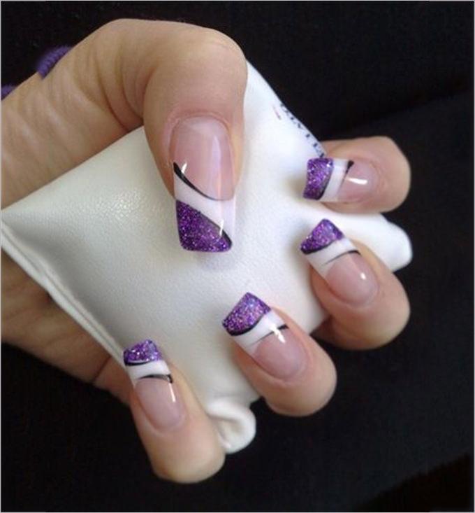 gel nail design image