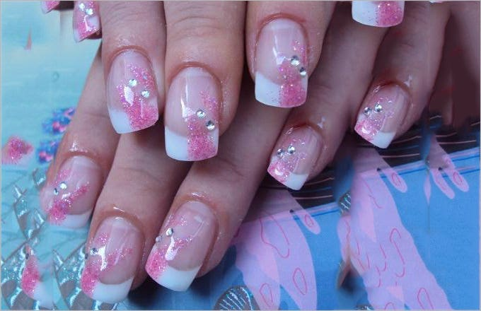 gel nail design picture