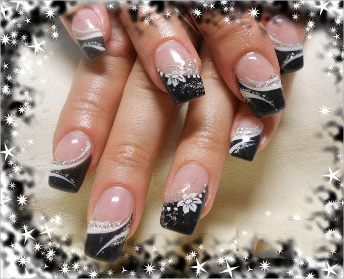 30 Simple And Cool Gel Nail Art Designs Ideas Free Amp Premium Templates