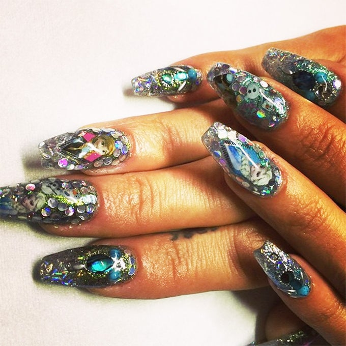 glitter colors design