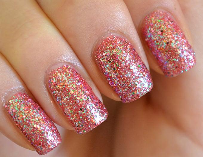 glitter gel nail designs