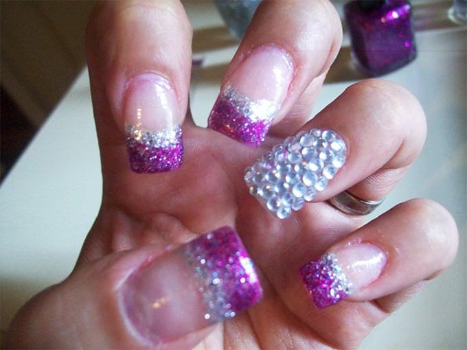 glitter nail ideas