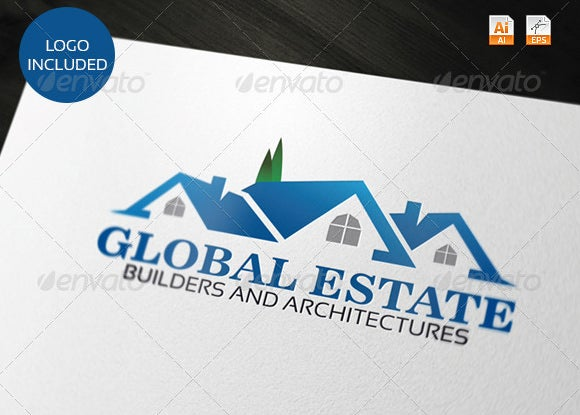global estate construction company logo