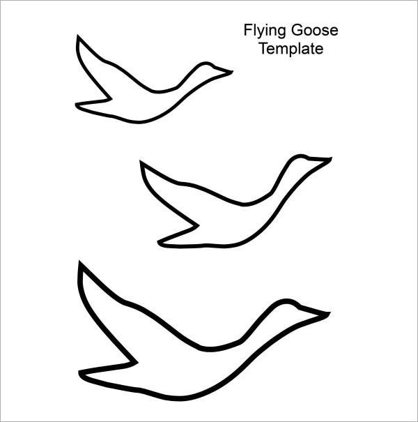 flying bird template printable - 20 bird templates animal templates free premium