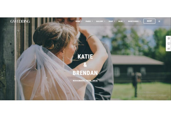 grand wedding wordpress theme