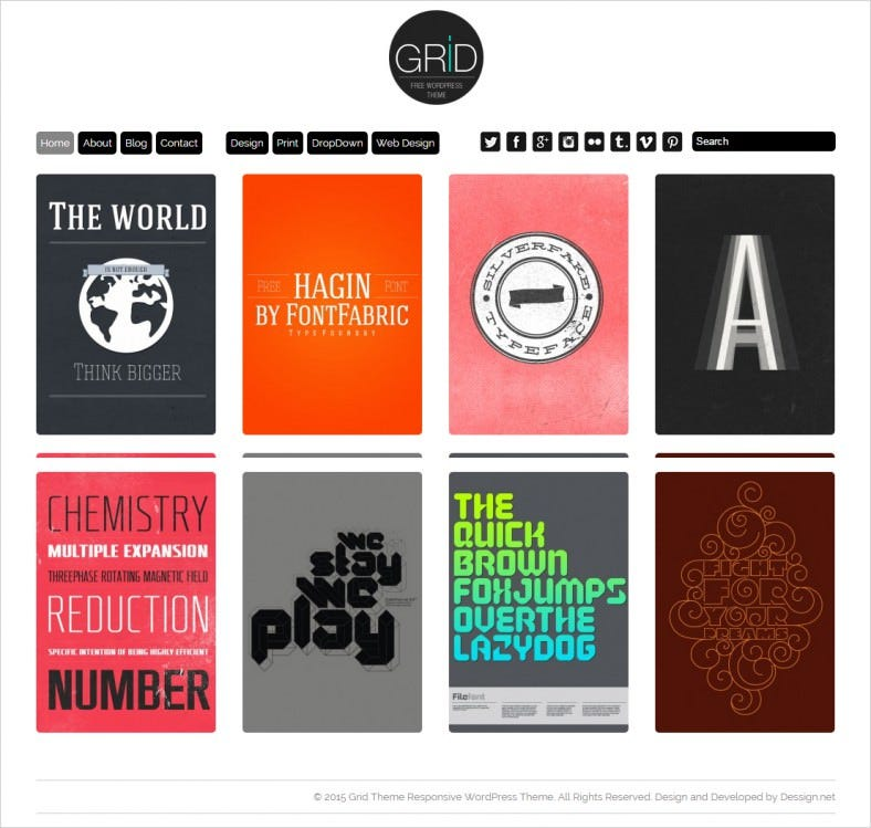 grid theme responsive wordpress 788x749