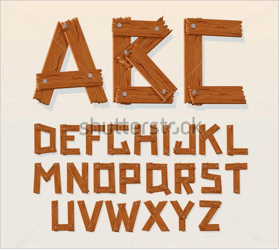25+ Wooden Alphabet Letters - Free Alphabet Letters Download ...