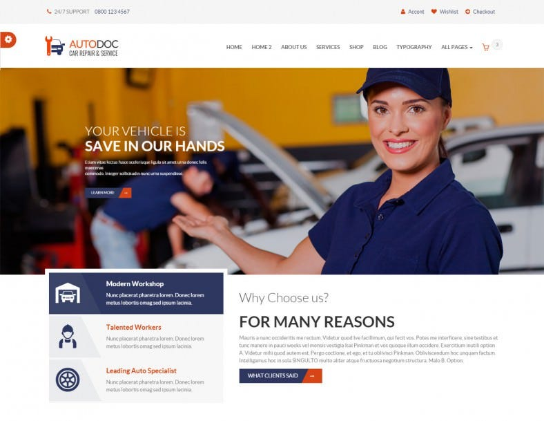 20 retail website themes templates free premium templates html car repair mechanic shop maxwellsz