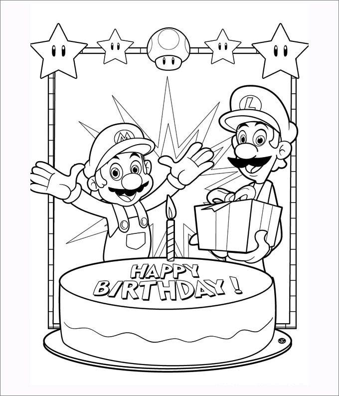 Happy Birthday Super Mario Bros