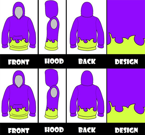 hoodie collection templates