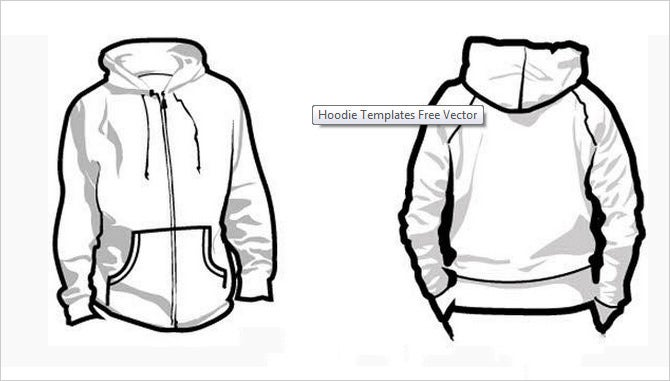 Illustrator Coloring Zip Hoodie Jacket Coloring Pages