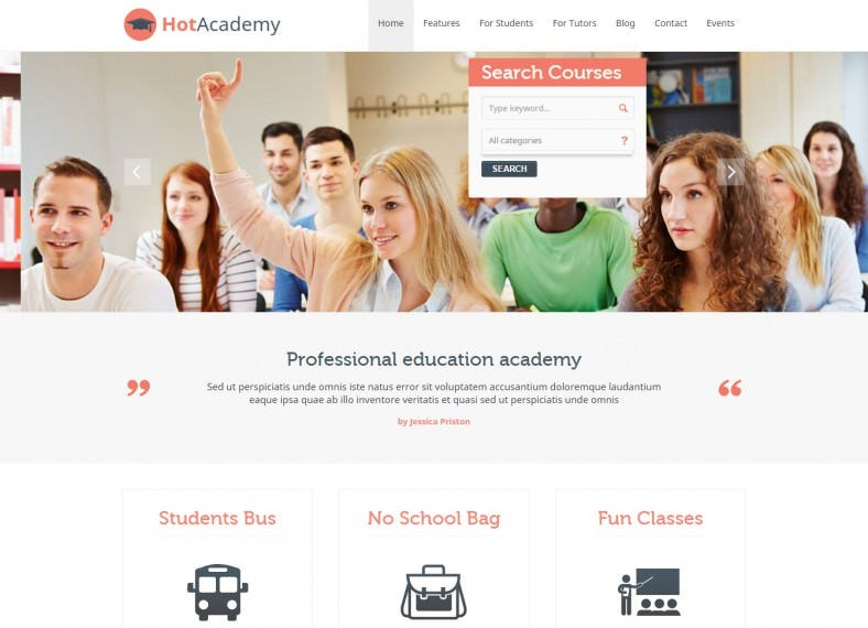hot academy school joomla theme 39 788x570