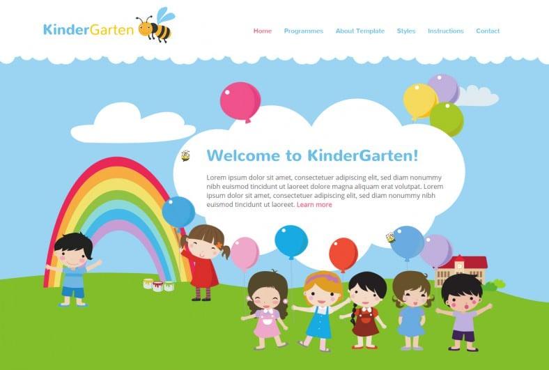 hot kindergarten joomla theme 39 788x531