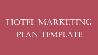 hotelmarketingplantemplate