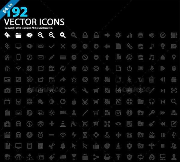 icons192 vector icons