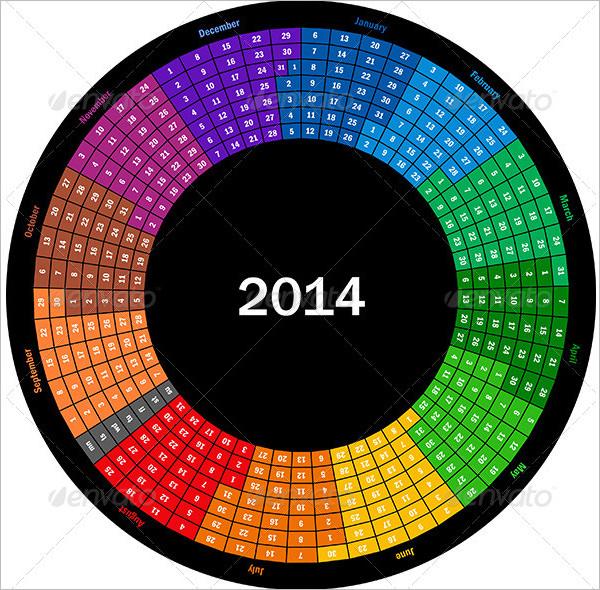 incredible calendar template 1