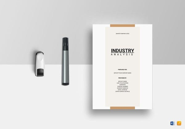 industry-analysis-template-to-edit