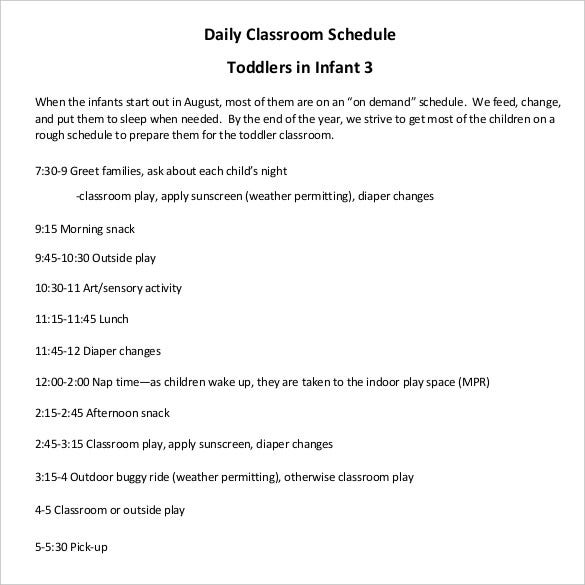 infant-classroom-schedule