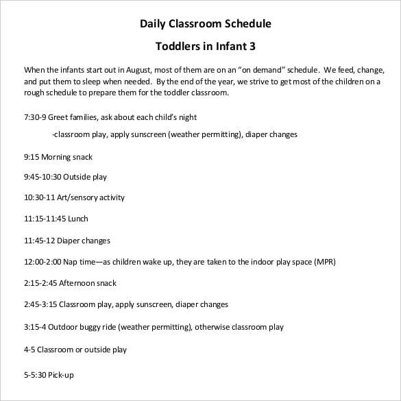 infant-classroom-schedule