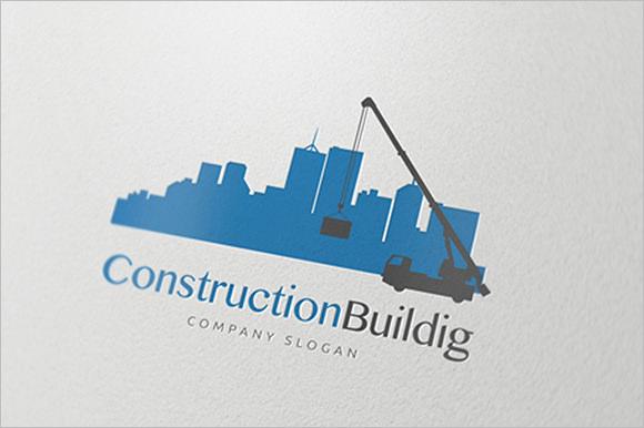 initial construction company logo