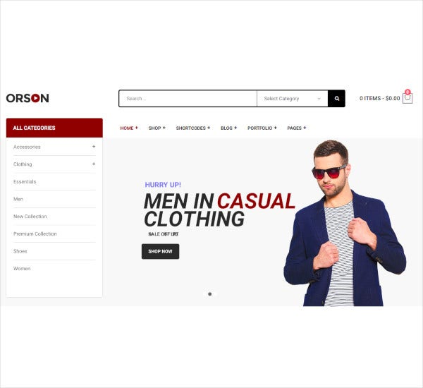 innovative ecommerce wordpress theme