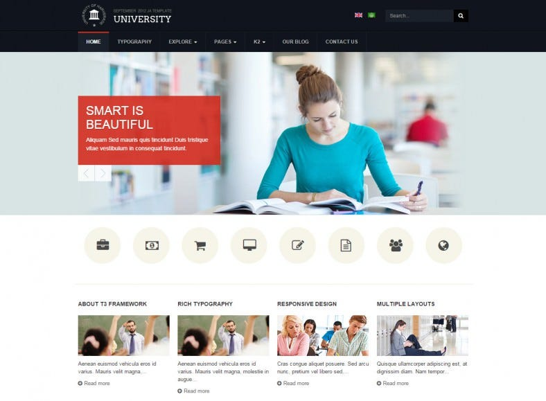 ja university joomla theme 788x579