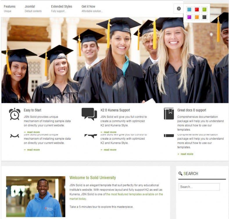 jsn responsive joomla education theme 48 788x751