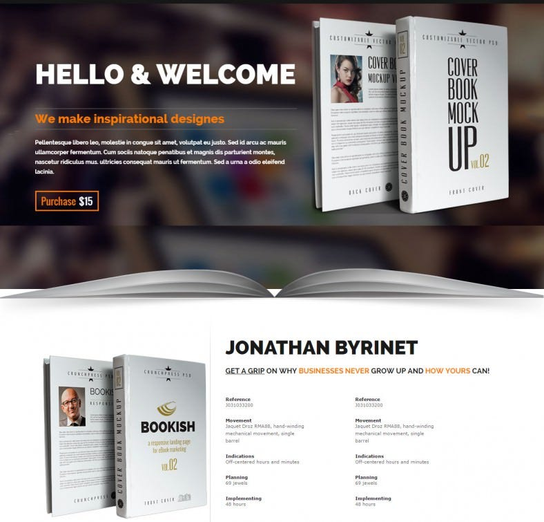joomla theme for book author 14 788x755