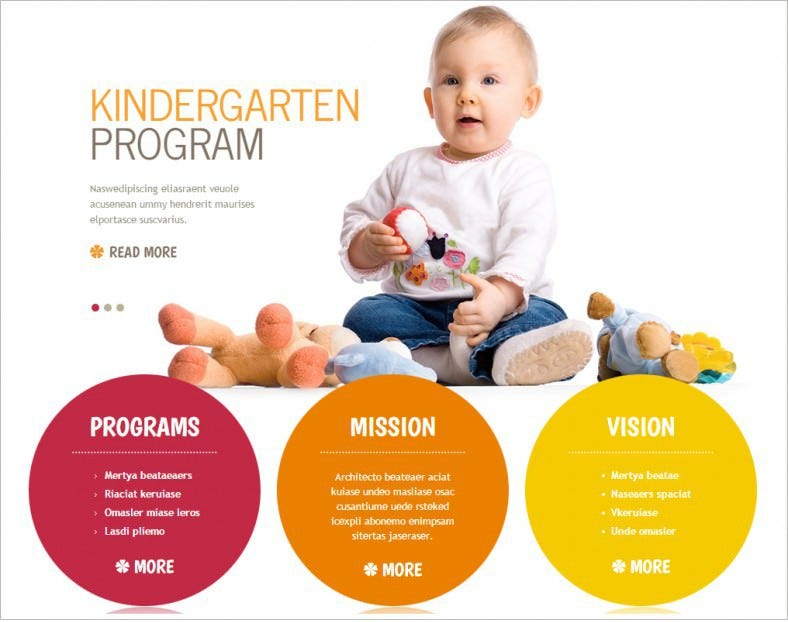 Kindergarten Joomla Themes