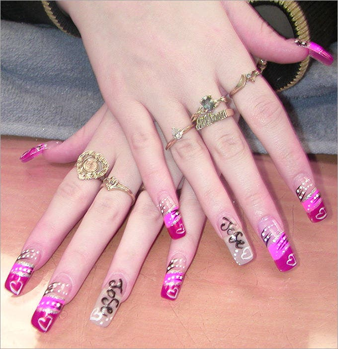 30 mesmerizing nail polish design ideas 2015 free premium latest nail polish design prinsesfo Images
