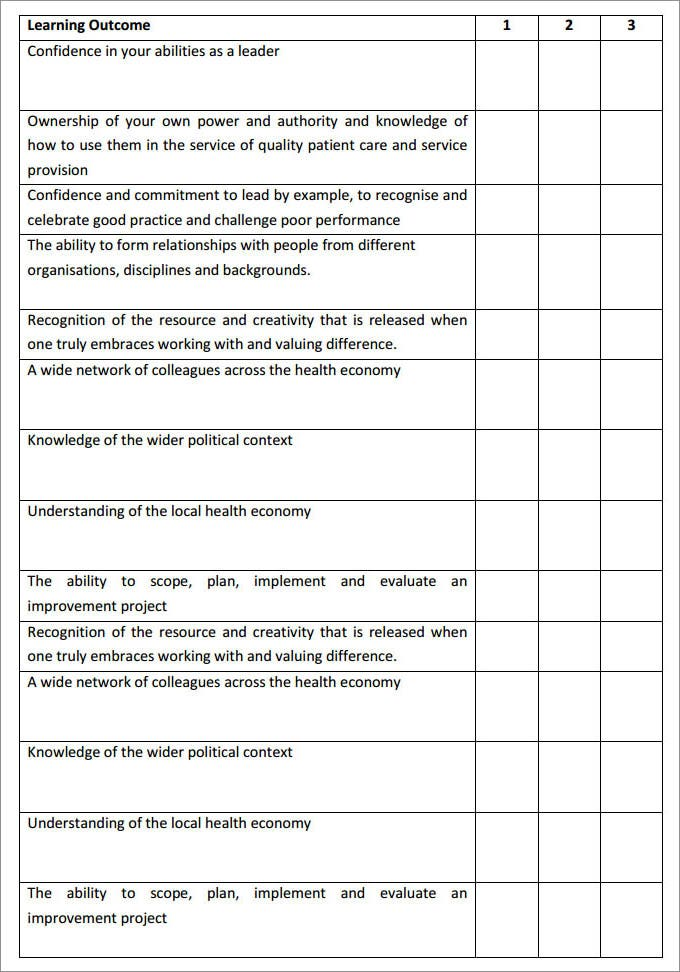 Leadership Development Plan Template   Free Word Pdf Documents