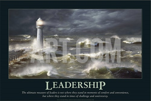 leadership motivational psd posters