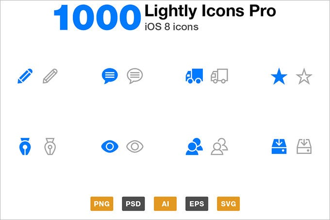 lightly icons pro