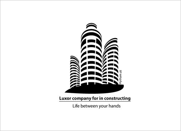 luxur construction company logo