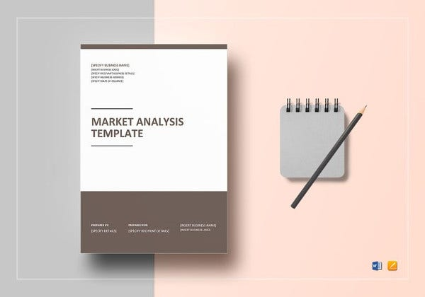 market analysis template in word