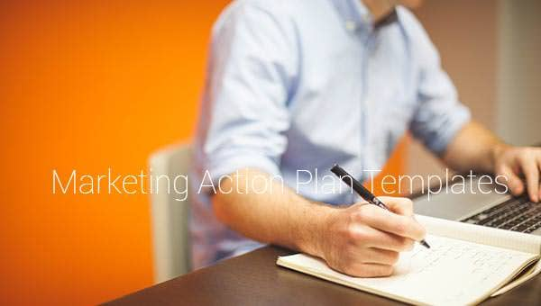 marketing action plan templates