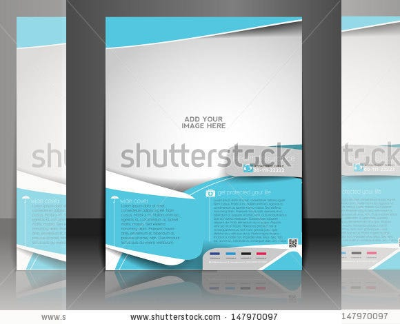 marketing medical poster template