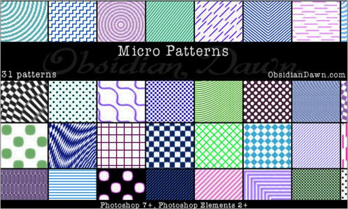 micro patterns ps patterns 43211439