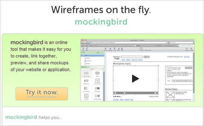 mockingbird mobile wire framing tool