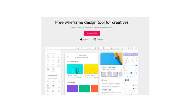 mockplus free wireframe tool