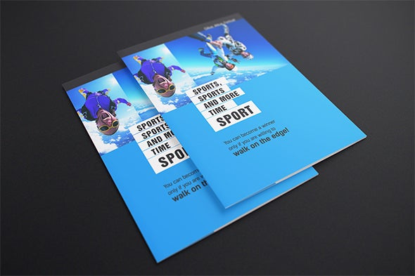 mockup postcard flyer template