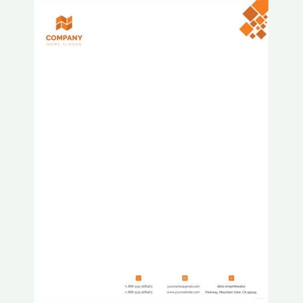 template letterhead