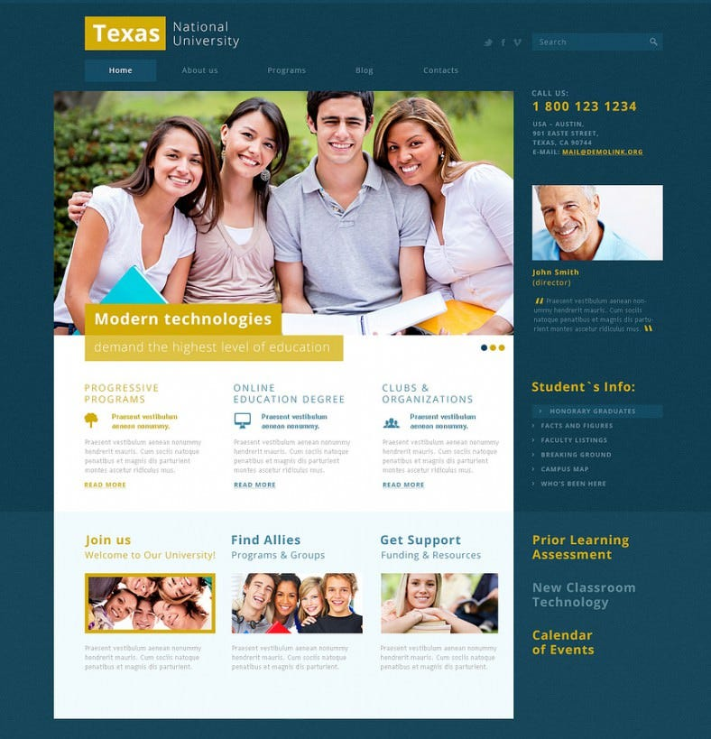 modern and fancy university joomla theme 75 788x819
