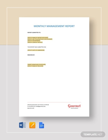 monthly health and safety report template.html